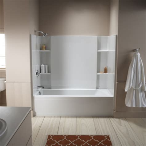 square bathtubs sterling tub shower combo home depot tub shower combo interior designs