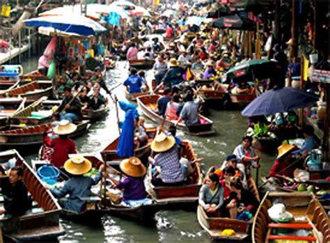 The Floating Market Thailand ~ travel-my-blog