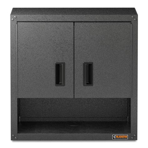 gladiator wall cabinet height gladiator premier series pre assembled 35 in h x 28 in w