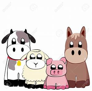Cute Farm Animals Clipart (74+)