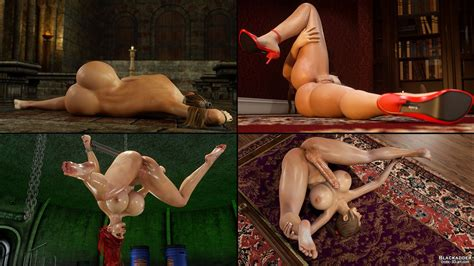 Blackadder Erotic 3d Art