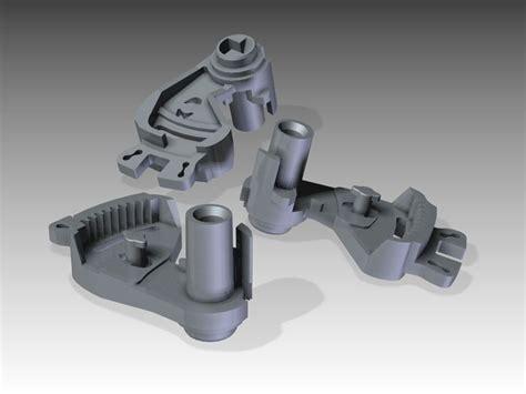 car door lock part  model  printable stl cgtradercom