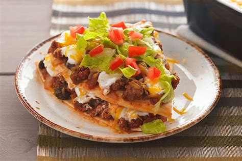 cuisine kraft layered enchilada bake kraft recipes