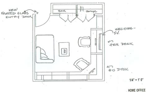 small home office layout plan homemade ftempo