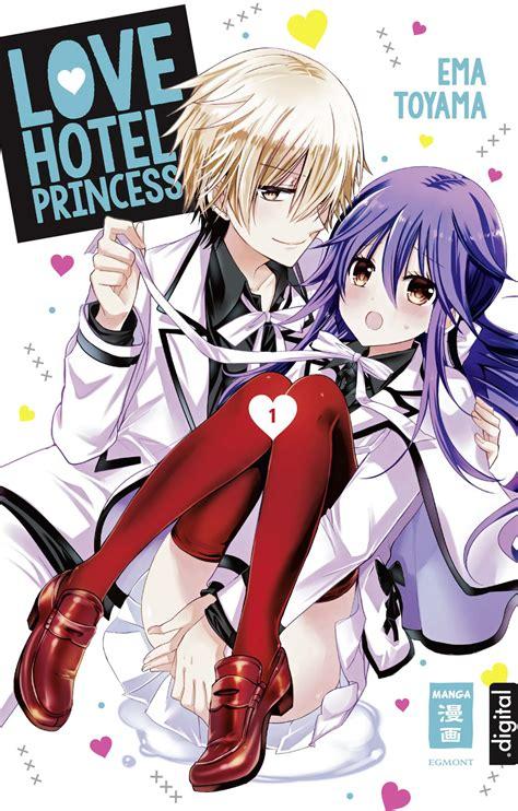 love hotel princess  von ema toyama egmont manga