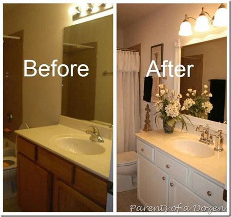 Cabinets Paint Grade by Updating Builder Grade Cabinets Bathrooms In 2019