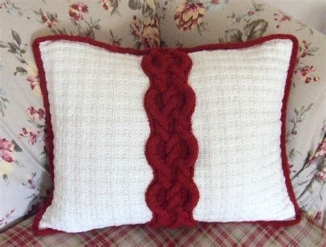 throw pillow patterns cable tweed throw by dawnbrocco knitting pattern