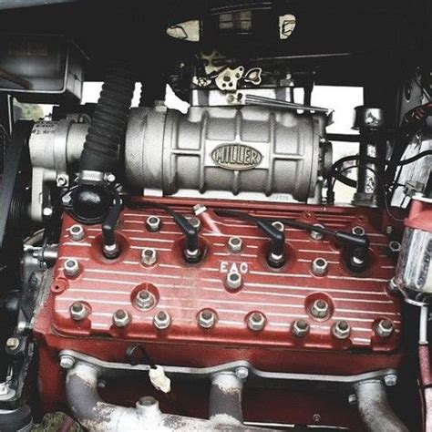 What A Great Picture Of A Classic 'blown' Ford Flathead