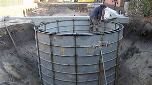 Water Tank Construction Time-lapse