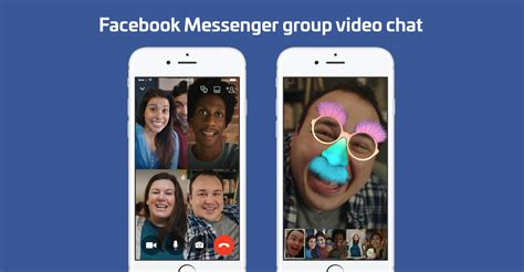 Facebook Messenger Launches 6screen Group Video Chat With