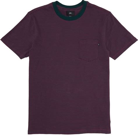 obey wisemaker pocket t shirt forest green multi