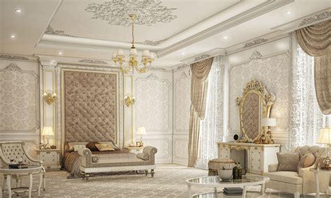 classic master bedroom private villa doha qatar