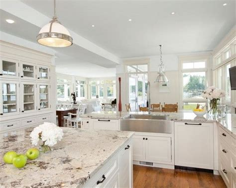 white kitchen cabinets countertop ideas 15 best pictures of white kitchens with granite