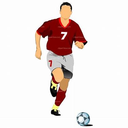 Soccer Clipart Player Ball Players Clip Background