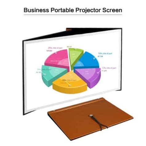 Top 10 Best Portable Projector Screens Reviews In 2020