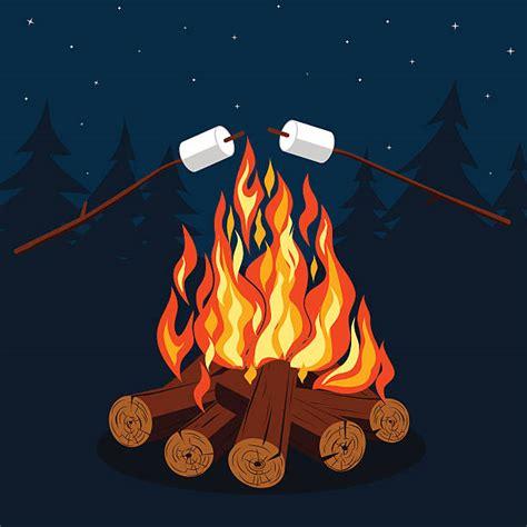 Bonfire Clipart Bonfire Clip Vector Images Illustrations Istock