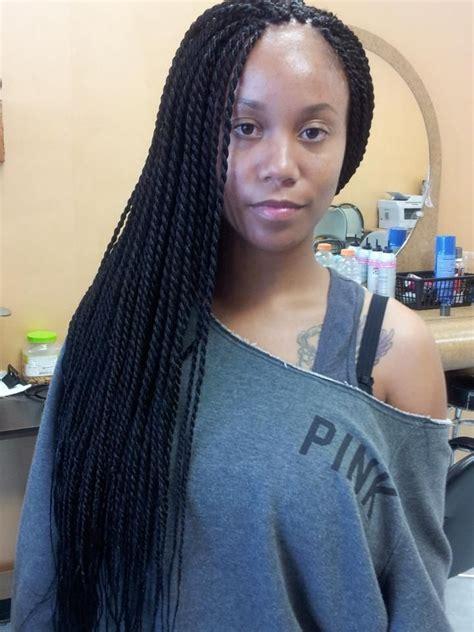 Medium Twist Hairstyles by Medium Senegalese Twists Situations Hair Styles