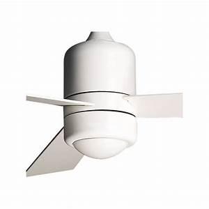 Ventilateur Plafond Reversible : ventilateur de plafond sirocco blanc id al pour des pi ces ~ Voncanada.com Idées de Décoration