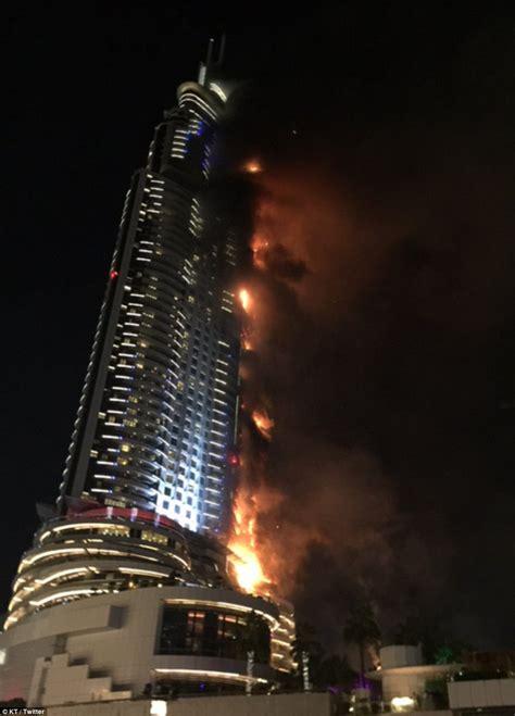 Dubai Hotel Fire Investigators Probe Cause Of New Years