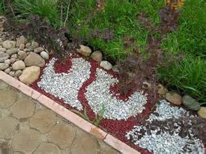 Landscaping with Colored Rocks