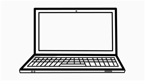 laptop computer  drawing illustration animation