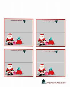 free printable editable christmas place cards best With table name tags template printable
