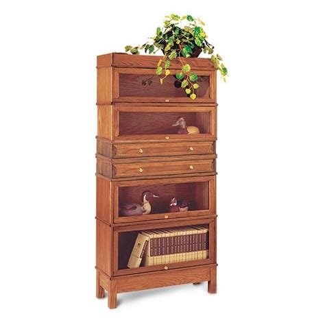 Wood Bookcase Kits by Barrister Bookcase Kit