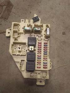 1998 Jeep Cherokee Xj 4 0l Fuse Box Panel
