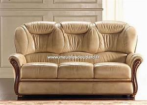 Salon En Cuir : salon cuir r f tania canap 2 fauteuils ~ Medecine-chirurgie-esthetiques.com Avis de Voitures