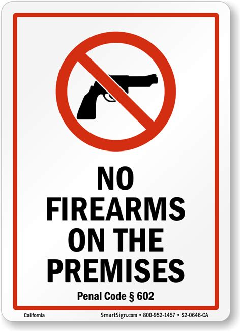 california  guns law signs