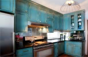 distressed kitchen furniture decor pendant lighting with teal kitchen cabinets and cooktop also granite countertops