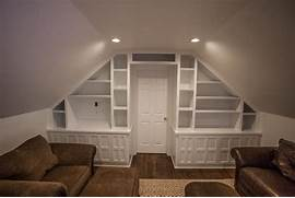 Medium Attic Living Room Design All Rooms Living Photos Family Room