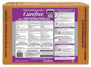 johnson diversey matte floor finish solution carefree