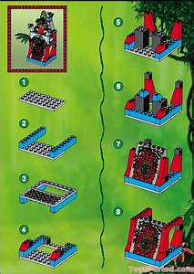 Lego 5986 Amazon Ancient Ruins Set Parts Inventory And Instructions