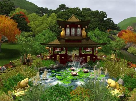 12 Best Images About Sims 3 Garden Ideas On Pinterest