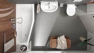 Mini Badewannen Kleine Bäder : die raumsparende badewanne von diana plus ist kompakt sie l uft zum fu ende schmal zu und ~ Frokenaadalensverden.com Haus und Dekorationen