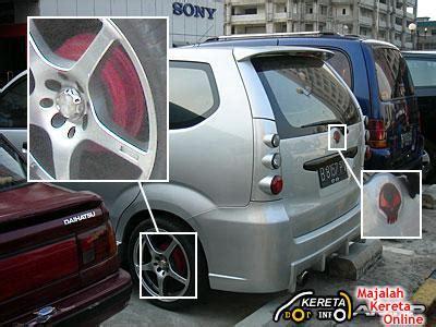 Avanza Modified Malaysia by Toyota Avanza Details Spec Modified Picture Bodykit Of