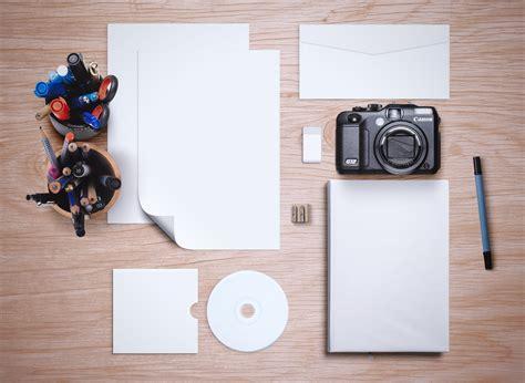 branding mockup templates  stationery  items