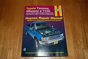 Sell Toyota Tacoma  4runner  U0026 T100 Haynes Repair Manual