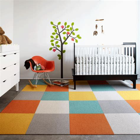installing flor carpet tiles for lea s new playroom cozy