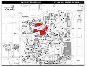 UC Cincinnati Campus Map