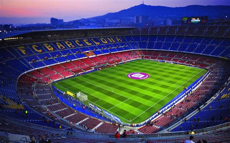 fc barcelona campnou hd wallpaper  wallpaper