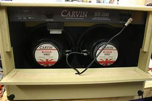 Carvin Cabinet Parts