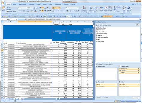 learn excel pivot tables ms excel pivot table expand column in a new sheet