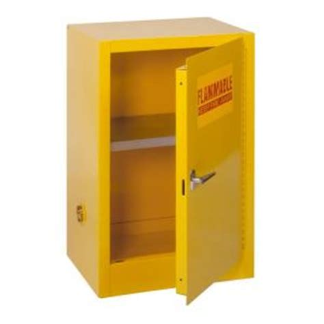 flammable liquid storage cabinet home depot edsal 35 in h x 23 in w x 18 in d steel freestanding