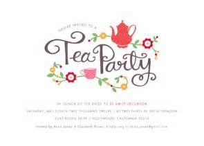 bridal tea party invitations party invitations tea party at minted