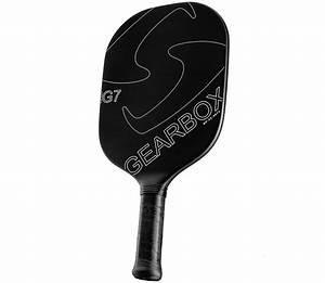 Gearbox G7 White Pickleball Paddle Paddleballgalaxy