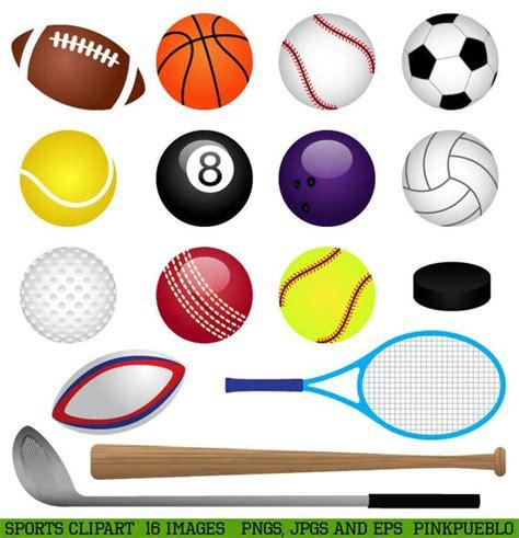 Sports Clipart Clip Art Basketball Baseball Football Golf