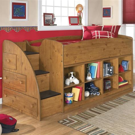 amazing kids room wooden twin loft bed  storage unit bedroom furniture reviews