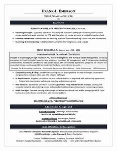 sample cfo resume example of executive resume trends 2015 With cfo resume writing services